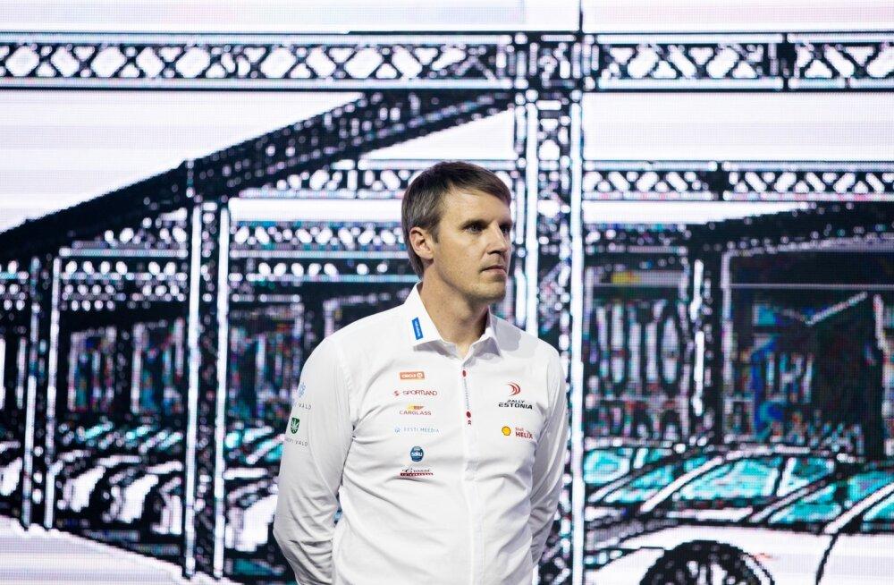 Urmo Aava, endine rallisõitja, praegune Rally Estonia direktorr.