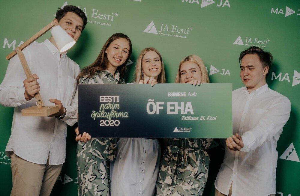 Эстонская ученическая фирма получила высокое признание на европейском соревновании