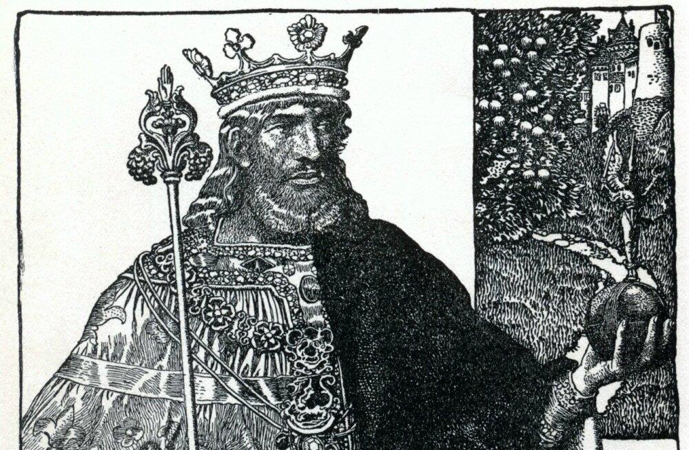 Briti arheoloogide avastused Tintageli palees klapivad legendiga kuningas Arthuri sünnist