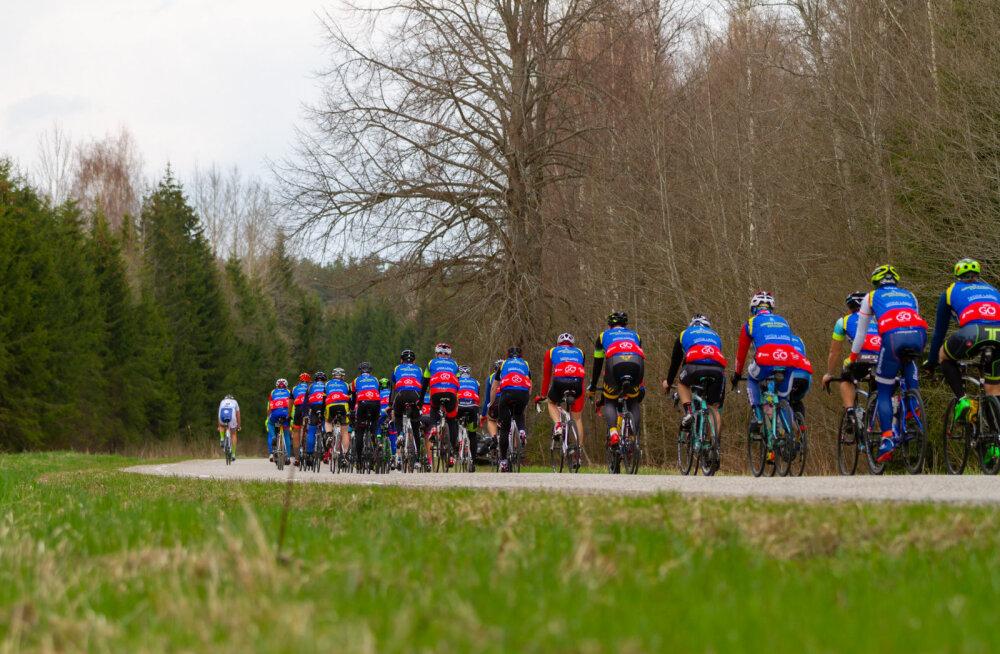 Gran Fondo Estonia Tartu-Tartu 29. aprilli rattasõidul osalejad