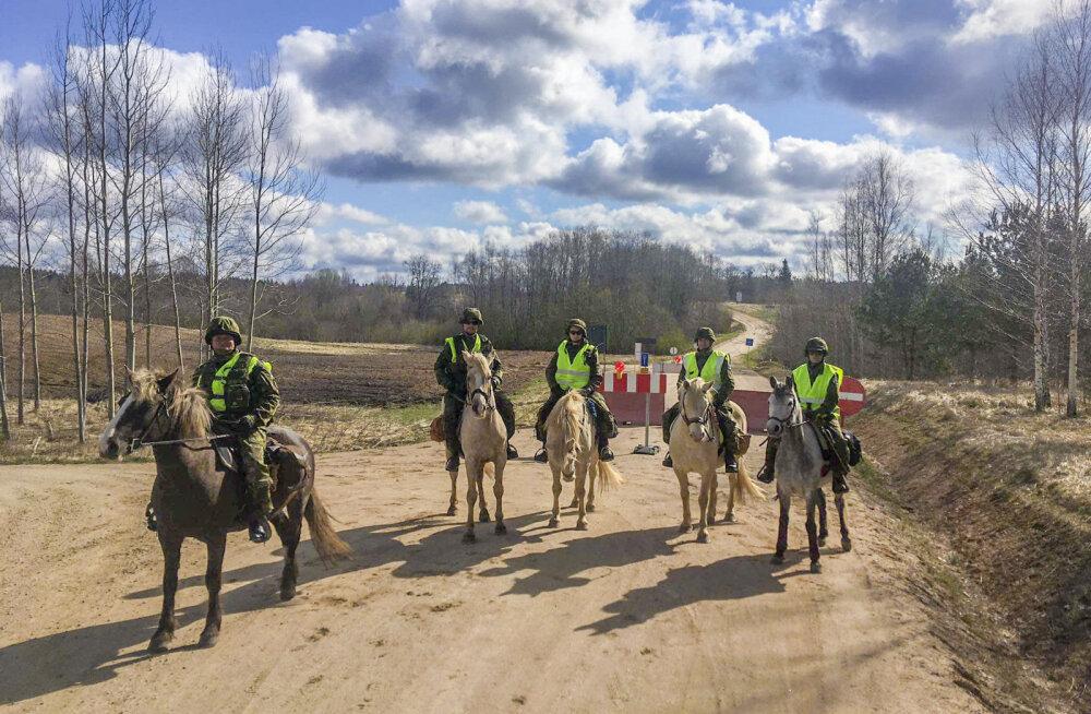 30 kilomeetrit ja 12 tundi hobuse seljas ehk Ratsapatrull piiril