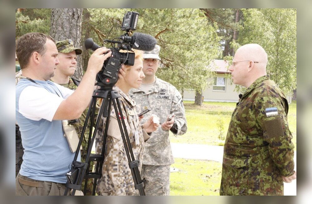 Maaväe ülem Delfile: Meil toimuvad suurõppused on kasulikud igaühele