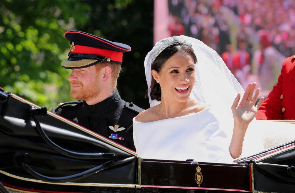 Hertsoginna Meghani isa prints Harryle: luba, et sa ei tõsta kunagi Meghani vastu kätt