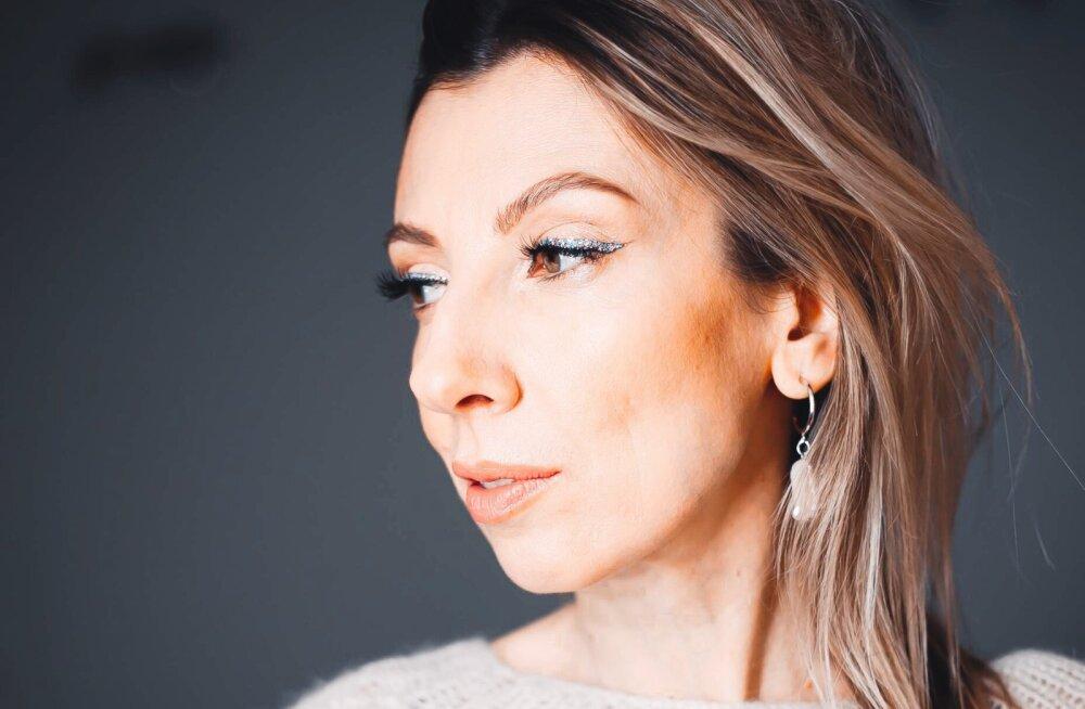 ФОТО   Идея праздничного макияжа от эстонского визажиста: вы сможете запросто это повторить!