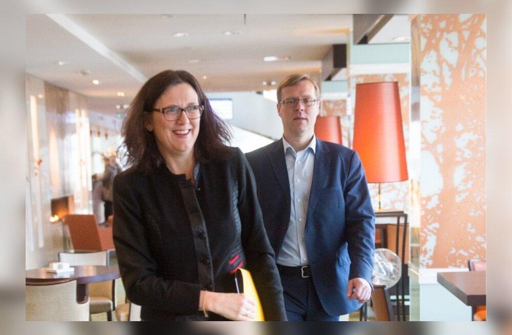 Euroopa Komisjoni siseasjade volinik Cecilia Malmström
