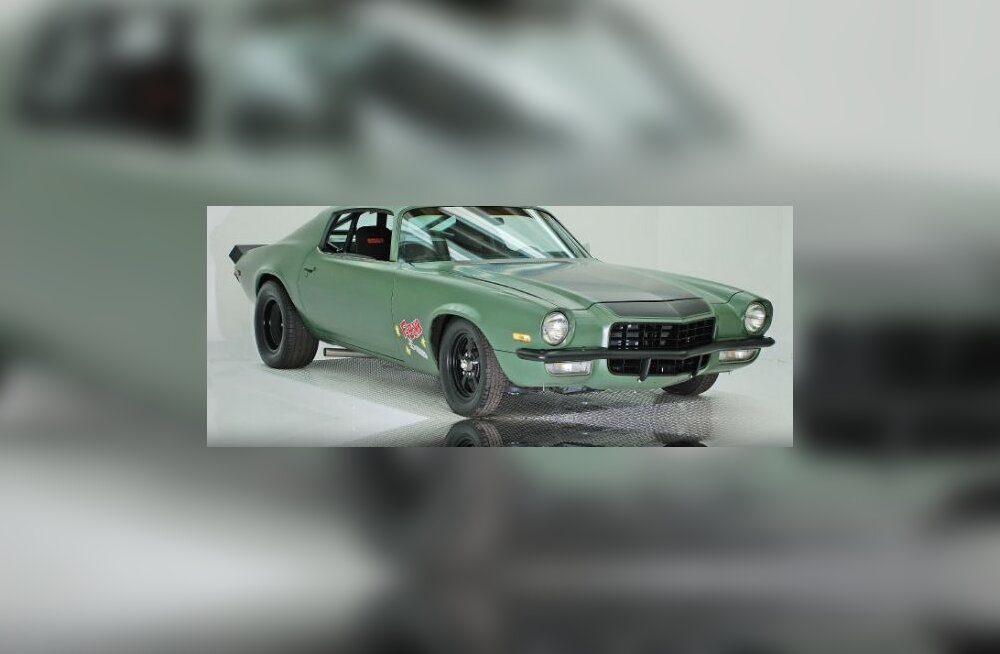 Fast and the Furious F-Bomb Camaro