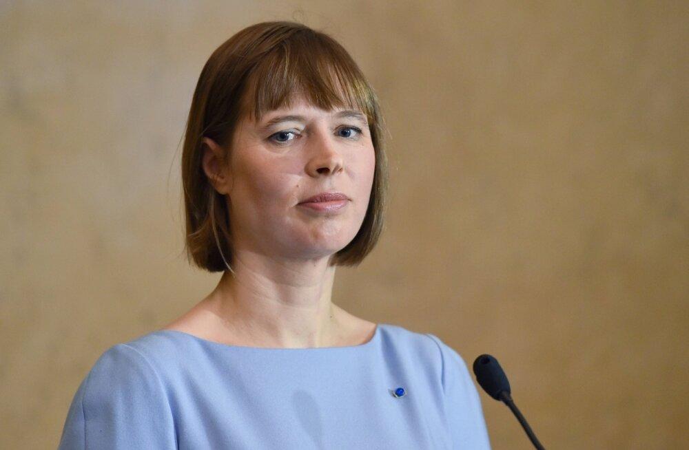 President Kaljulaid kutsus intervjuus Deutsche Wellele võitlema valeuudiste vastu