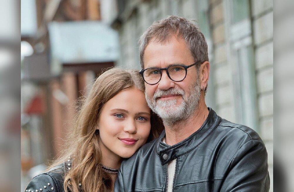 """Andrus Eelmäe muretseb modellist tütre pärast: """"Et jumala eest ei vaadataks teda omakorda kui oma isa varju."""""""