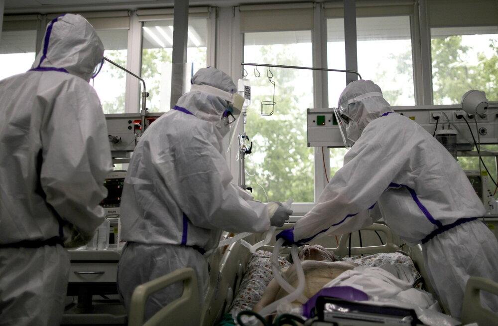 Venemaal jõudis COVID-19-sse nakatunute arv täna 400 000-ni