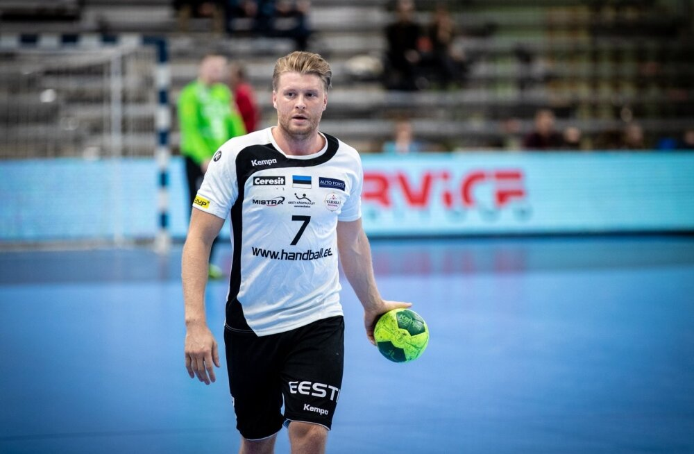 Käsipalli EM-valikmäng: Eesti - Läti