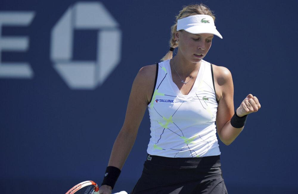 US Openil 32 parema hulka jõudnud Kontaveit: olen rahul sellega, kuidas mu mäng areneb