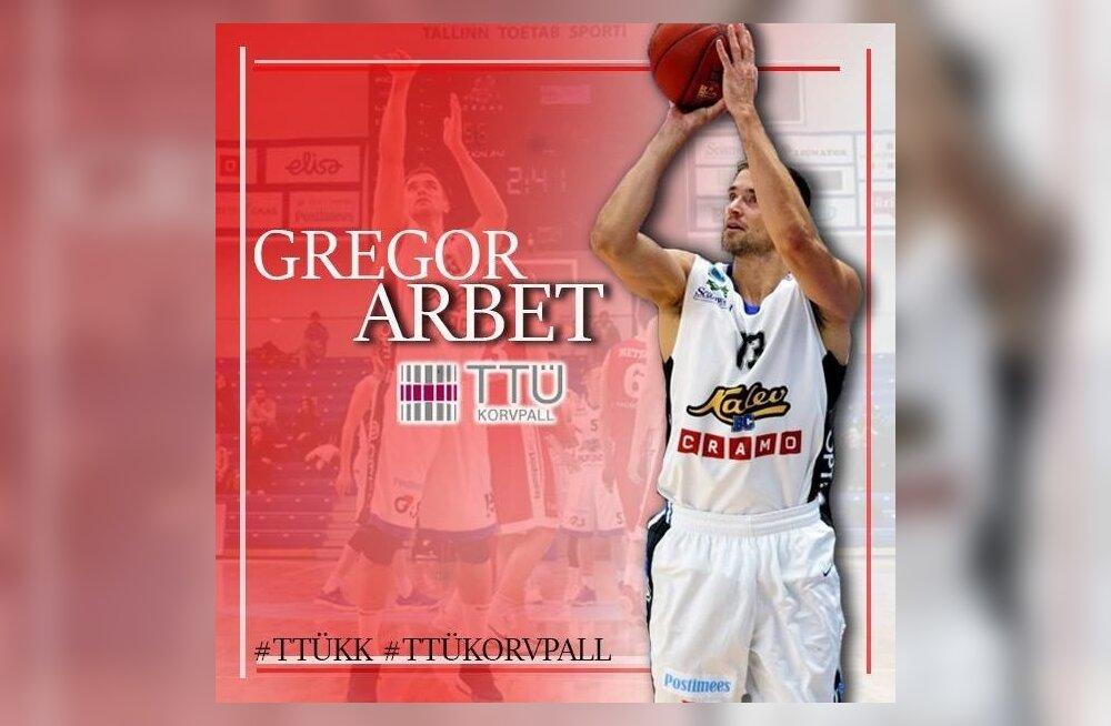 Gregor Arbet hakkab mängima TTÜ meeskonnas