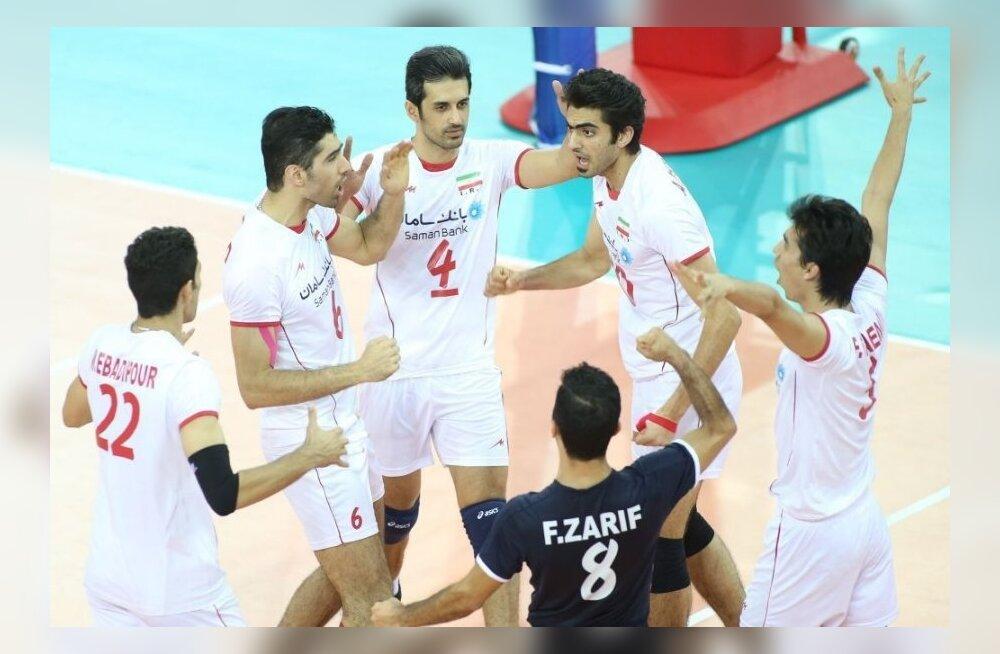 Iraani võrkpallikoondis