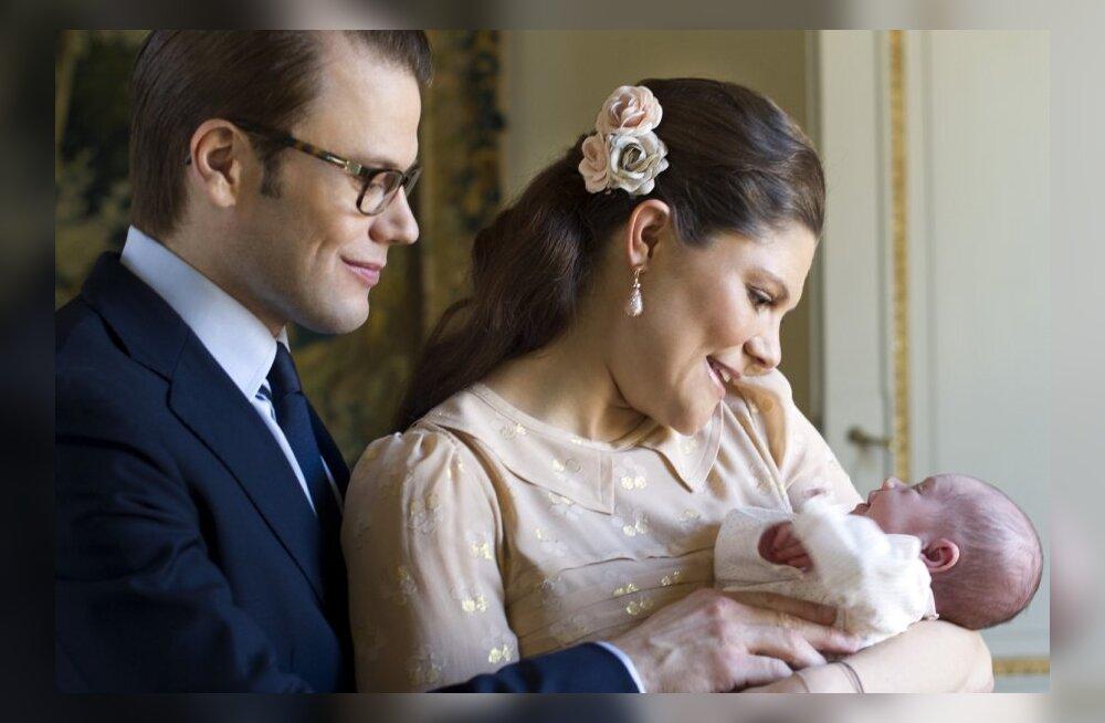 Skandaal Rootsi kuningakojas: Prints ja printsess ei tohi õelapse ristsetele oma kaaslasi võtta!