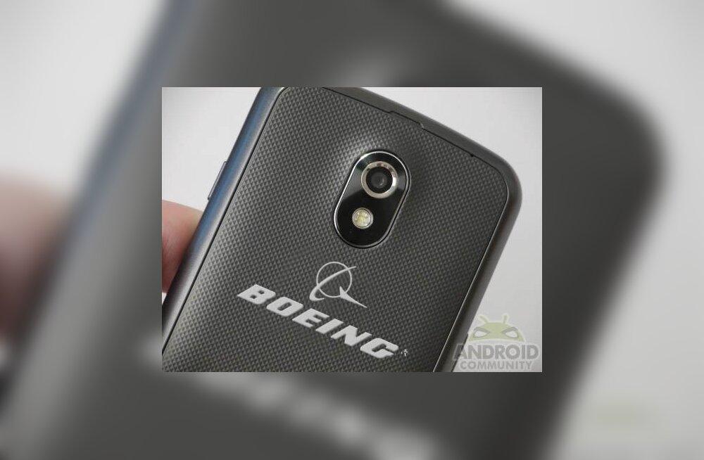 Boeing valmistab üliturvalise Androidi nutitelefoni
