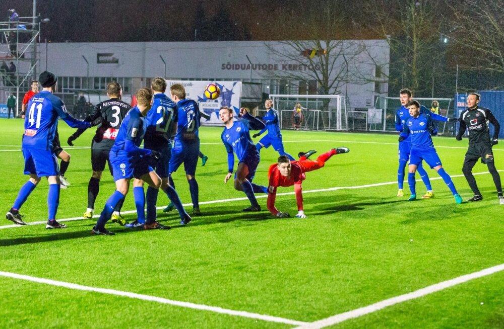 FC Tammeka vs FCI Tallinn