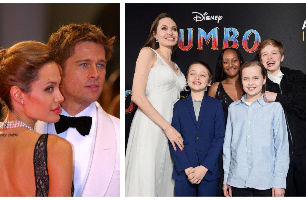 Pilk Angelina Jolie ellu pärast lahutust: ilma sõpradeta, kümne küünega lastest kinni ja ta soovib Bradi tagasi!