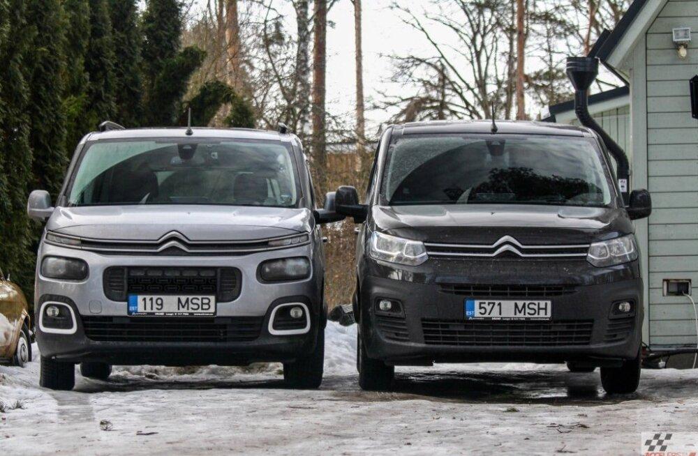 Üks Berlingo: kaks autot ja kaks täiesti erinevat kasutajakogemust