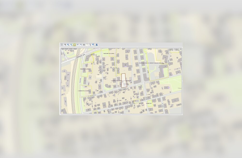 Maa-ameti arhiivi saabuvate planeeringute dokumente näeb nüüd ühes kaardirakenduses