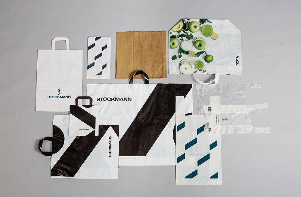 Stockmann ввел плату за пластиковые пакеты — клиенты стали чаще использовать тканевые сумки