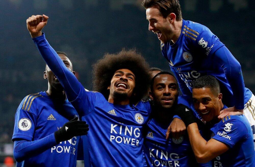 Võidukas Leicester City.