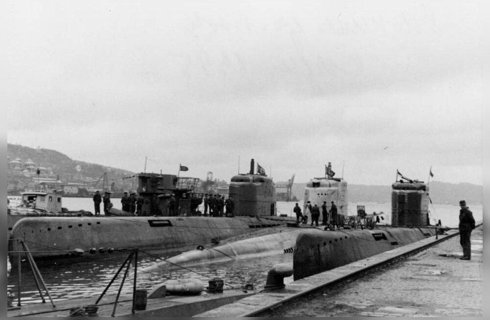 Taani väinast leiti natsi-Saksamaa superallveelaeva vrakk, millega sõja kaotanud natsid pärast allaandmist ilmselt põgenesid