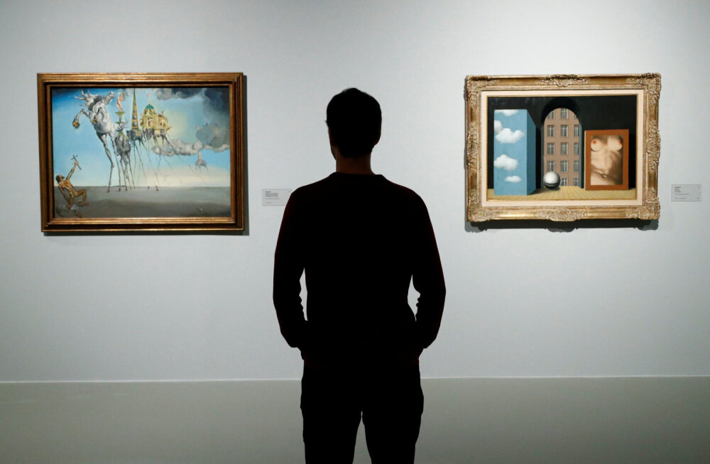 ВИДЕО: Из галереи в Сан-Франциско за 32 секунды украли гравюру Сальвадора Дали
