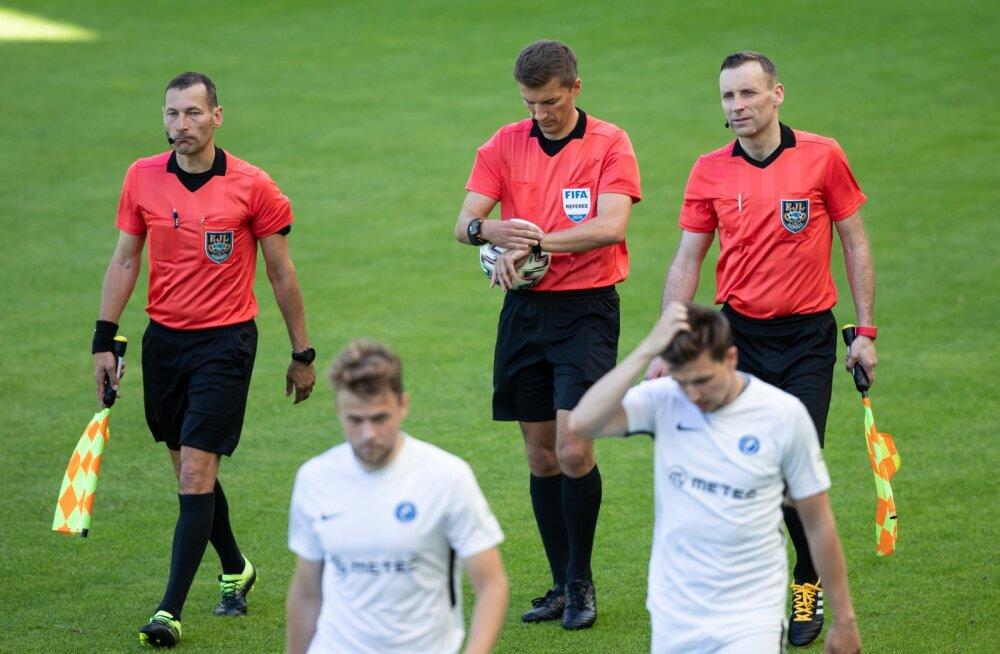 Jalgpall Tallinna FCI Levadia vs Tartu JK Tammeka 13.06.2020