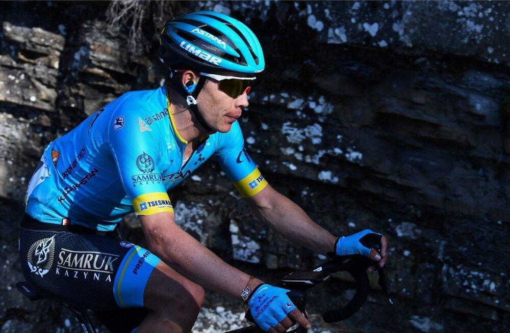Miguel Angel Lopez võitis Kataloonia velotuuril etapi ja tõusis liidriks