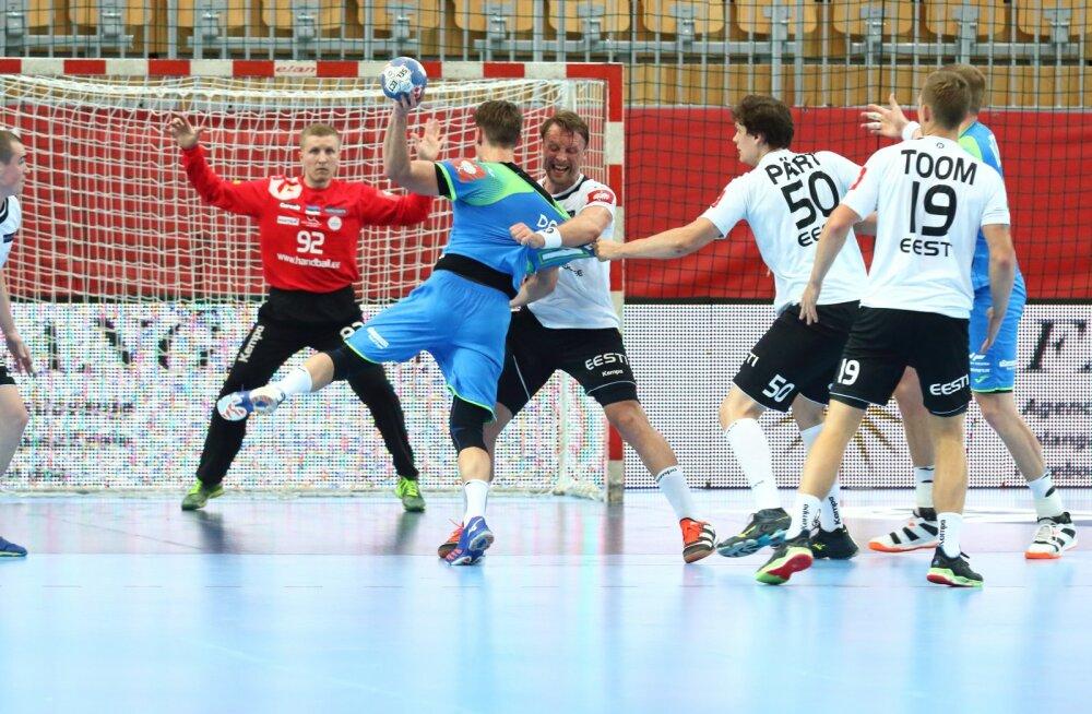 Eesti võitles end suurest kaotusseisust mängu tagasi, aga jäi Sloveeniale alla