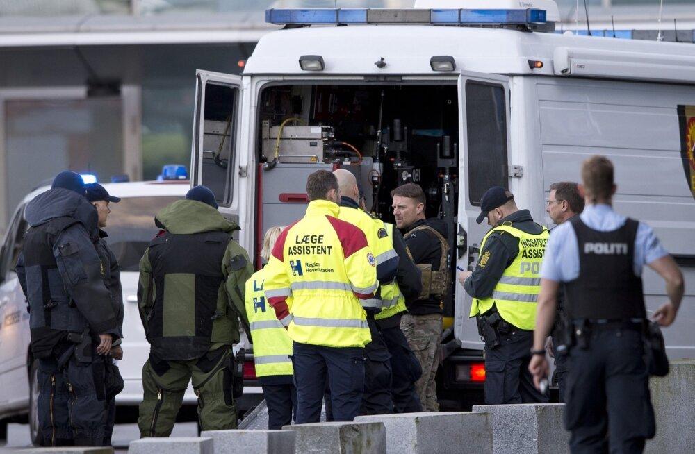 FOTOD: Kahtlase kohvri tõttu evakueeriti üks Kopenhaageni lennujaama terminalidest, pommi ei leitud