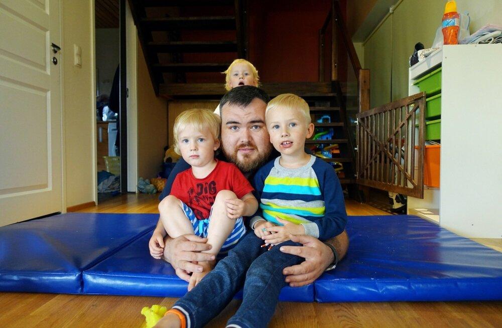 Kolme lapse isa Henry Jakobson: ma olen kahelnud, kas abielluda oli õige samm, aga mitte iial selles, kas koristajavõtt seda oli