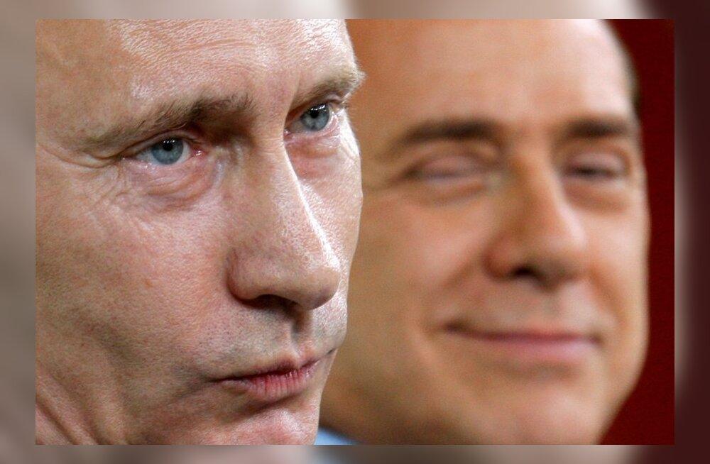 Putin ja Berlusconi