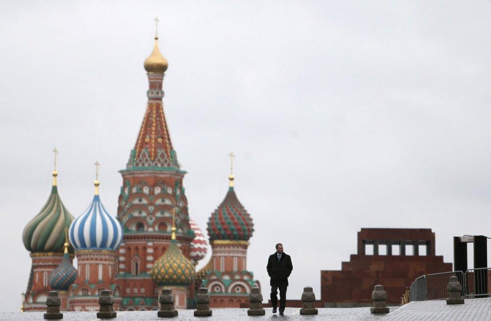 Punane väljak Moskvas.