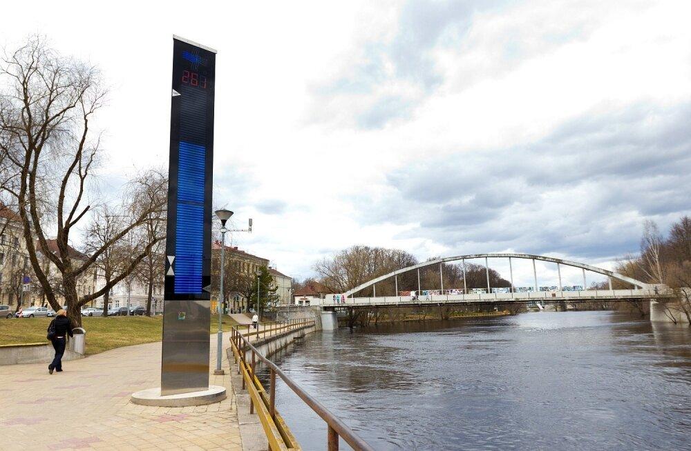 Tartus arvestatakse Emajõe veetaset nüüd Amsterdami nulli järgi.