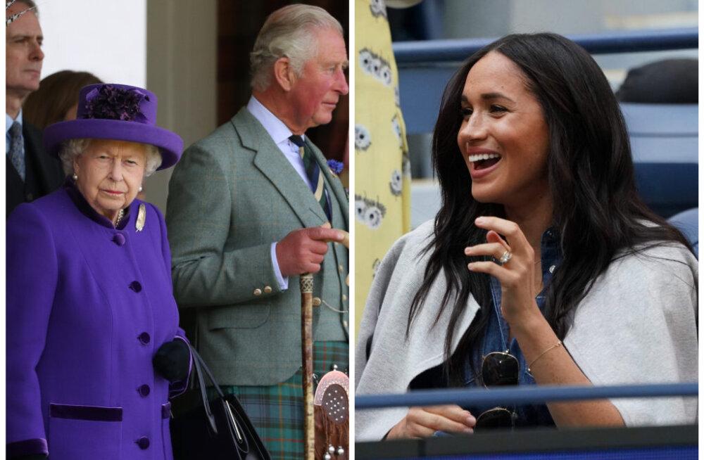 Briti meedia: kuninganna on hingepõhjani pettunud ja kurb, et Meghan Markle ootamatult New Yorki lendas