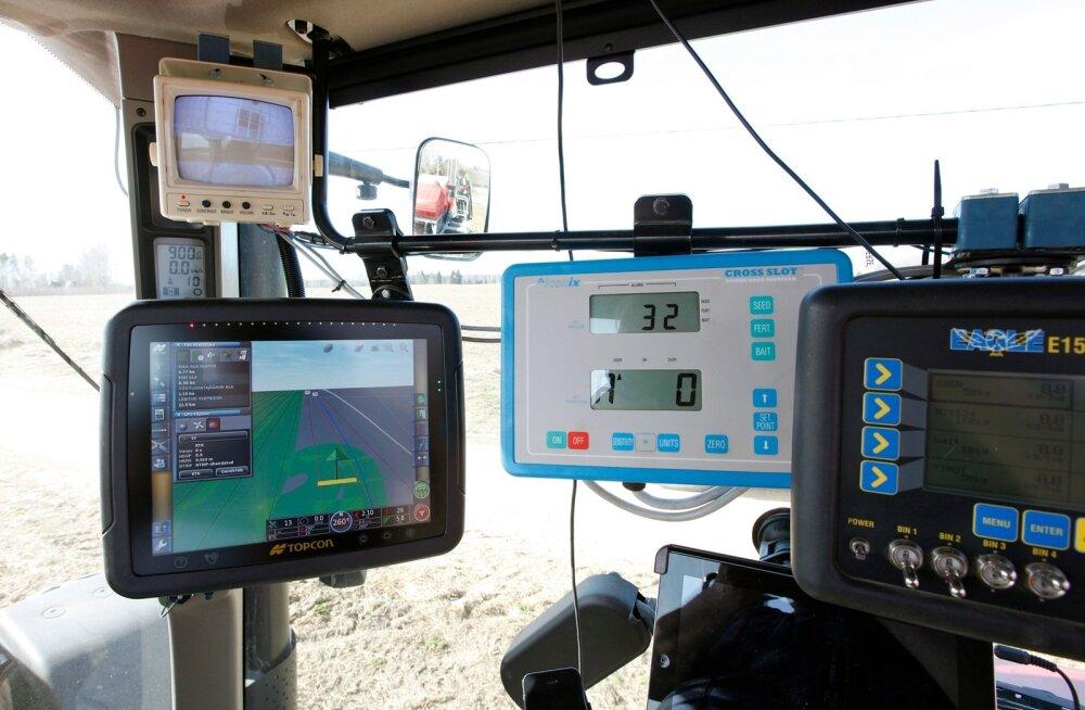 Põllumasinate GPSide varguskahjud arvatust rängemad, kindlustused peavad hüvitama üle 200 000 euro
