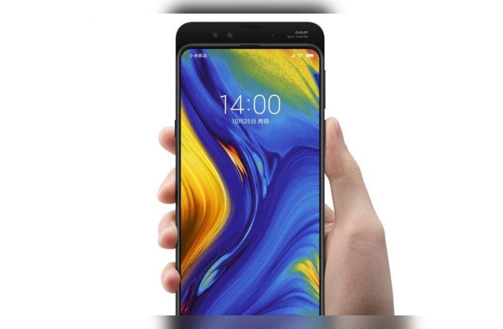 675487088ac Uus telefonitrend: ekraanid ja esikaamerad, mis libisevad Xiaomi Mi Mix 3  (Foto: tootja)