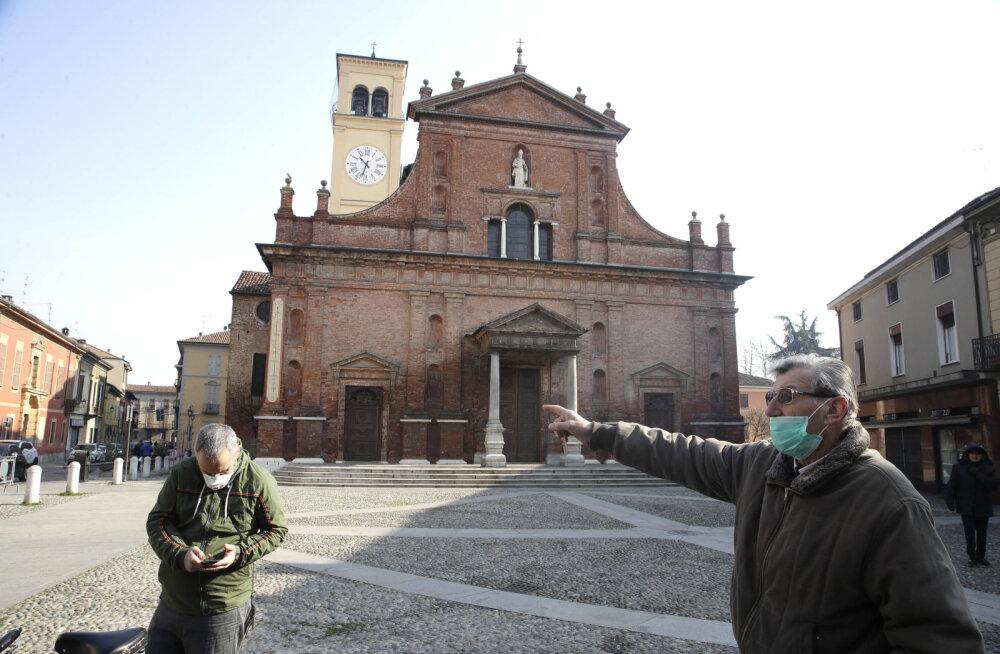 Itaalias avastati uue koroonaviiruse kolle: nakatunute arv neljakordistus, kümme linna karantiinis