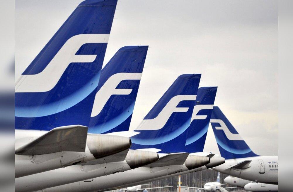 Finnairi esimene biokütuselend toimub liinil Amsterdam-Helsingi
