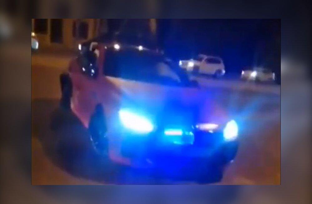 VIDEO   Nõmme Kalju ründaja laenas autot sõbrale, too tegi Venemaal politsei eest põgenedes avarii