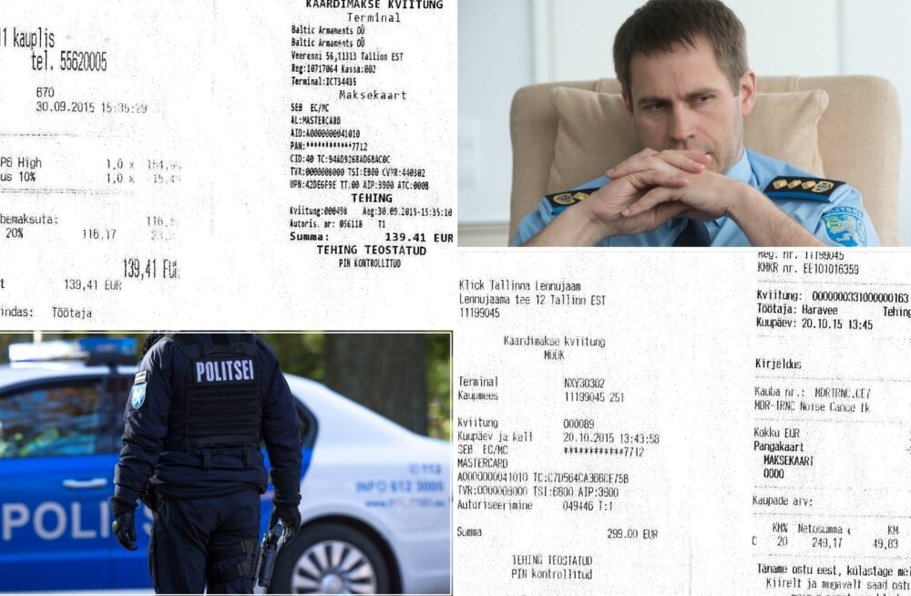 Artur Talvik: PPA juht Elmar Vaher ostis asutuse kaardiga Tallinna lennujaamast 299-eurosed kõrvaklapid ning 139,41-eurosed matkasaapad