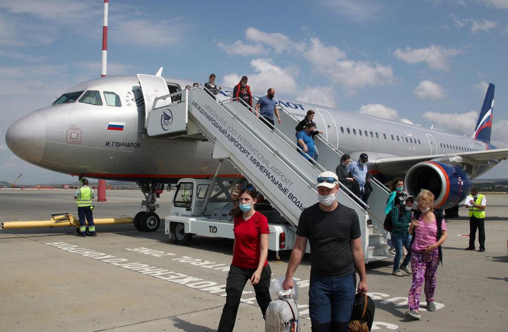 Все прилетающие в Россию с 1 августа должны проходить тест на коронавирус