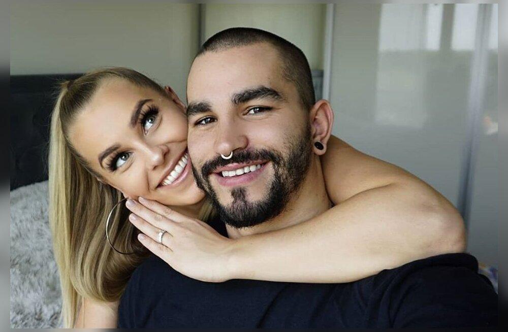 Juunikuusse pulma planeerinud Karin ja Aleksandr: kui pulm ära jääb, siis ju see peab nii minema