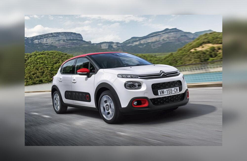 """Uus Citroën C3 on kujundatud samas võtmes, nagu ostjaid üllatanud """"kaktuski"""""""