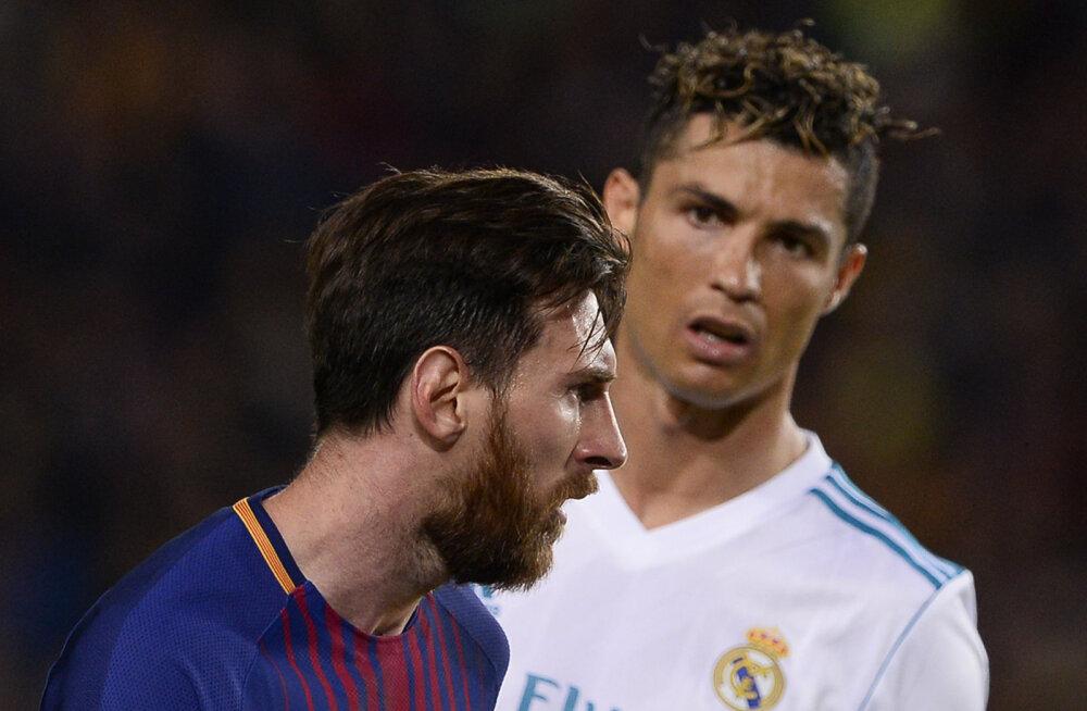Hollandi jalgpallilegend: kõik kes väidavad, et Ronaldo on Messist parem, ei tea jalgpallist midagi