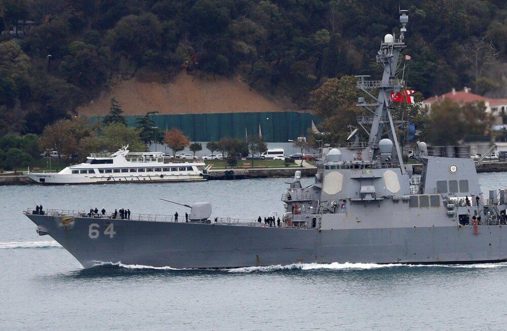 USA tahab harjutada Venemaad oma suurema kohalolekuga Mustal merel
