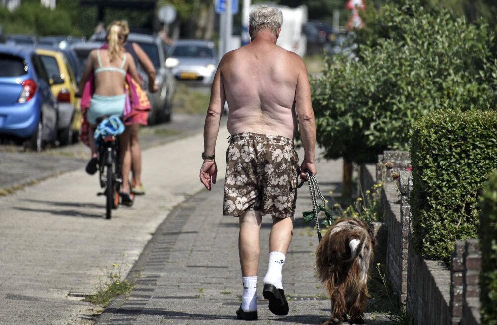 Statistikaamet: kuumalaine nädalal suri Hollandis 400 inimest rohkem kui tavaliselt