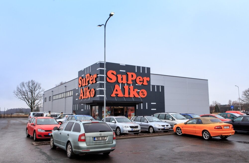 Ainazi uus Superalko kauplus