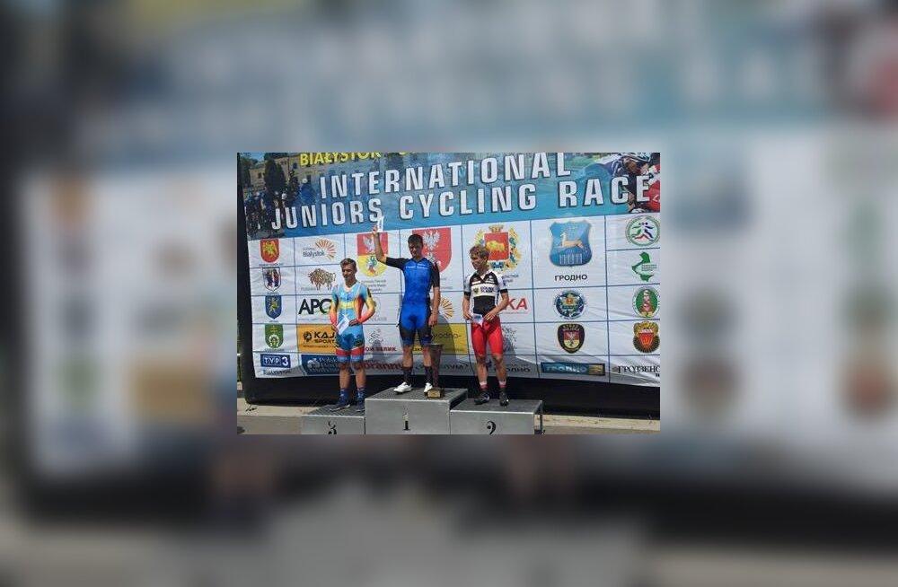 Eesti rattur võitis rahvusvahelise velotuuri proloogi